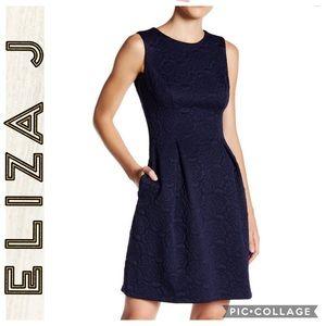Eliza J • Sleeveless Blue A-Line Dress • Size 4